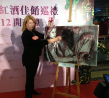 Art and wine: a florentine painter in Hong Kong
